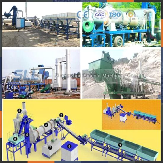 Modular Tyre 60ton Per Hour Bituminous Concrete Mixing Machine pictures & photos
