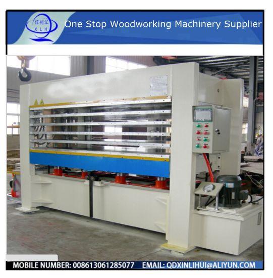 Plywood Coreboard Pressing Dryer/ Automatic Lamination Hot Press Machine Hot Hydraulic Board Press