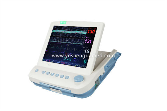 Ce Approved Portable Handheld Medical Equipment Fetal Patient Monitor pictures & photos