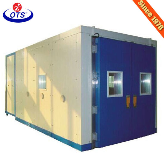 Customized Solid Construction Equipment Walk-in Temperature Humidity Cycling Chamber