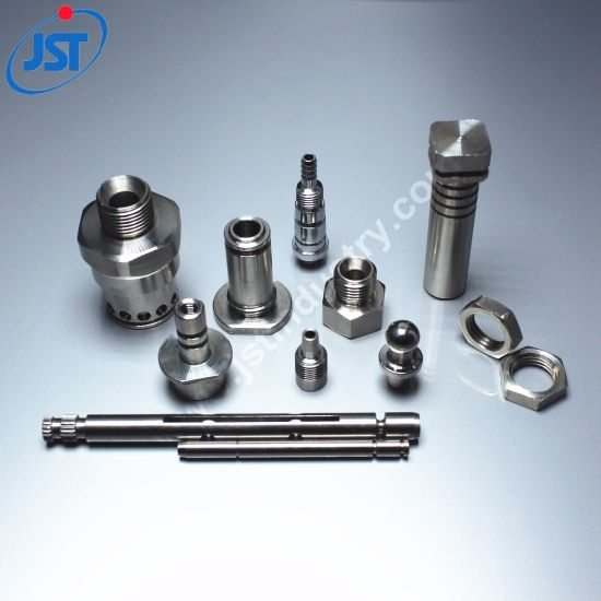 OEM CNC Machined Stainless Steel Rod Guide Shaft Couplings Connectors for Motorcycle
