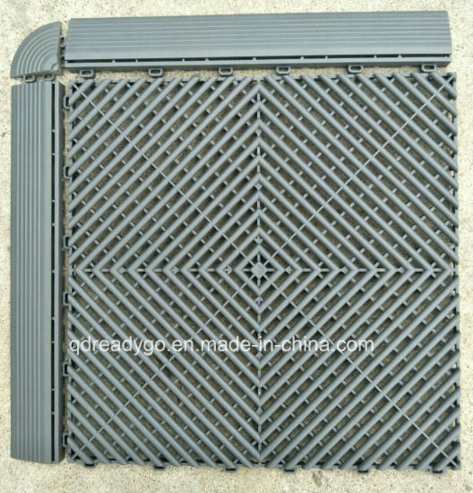 Large Plastic Rubber Garage Anti Slip Toilet Floor Mat