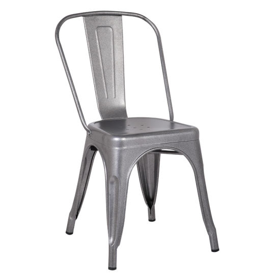 Home Furniture Indoor and Outdoor Wholesale Metal Tolix Dining Chair