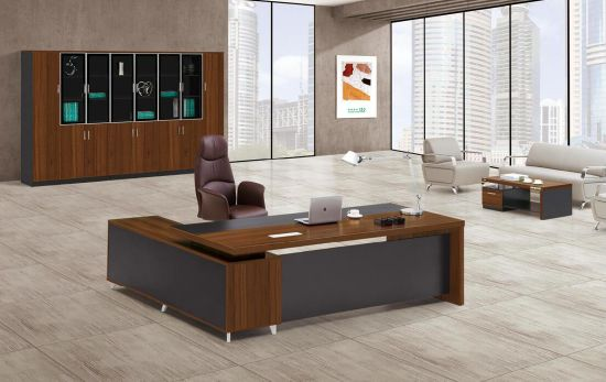 High Quality Modern Material Office Furniture Office Wooden Furniture Executive Desk pictures & photos