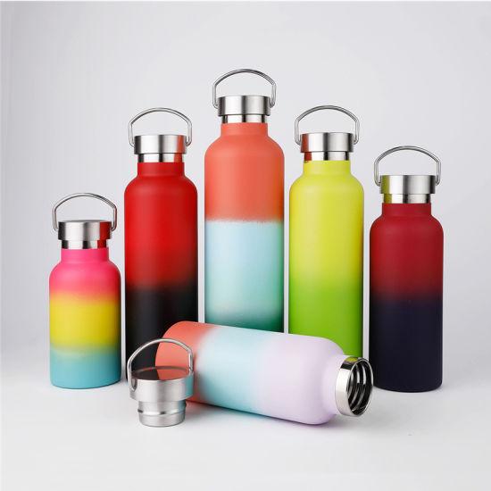 Vacuum Steel Water Bottle Vacuum Flask Outdoor Sports