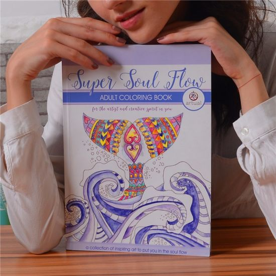 China Customized Cheap Wholesale Adult/Kids Coloring Books - China ...