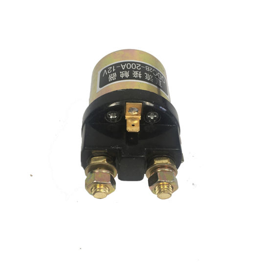 Good Quality 12V Copper DC Contactor for Hydraulic DC Motor