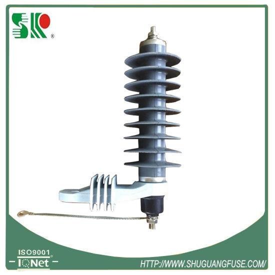 24kv High Voltage Lightning Polymer Surge Arresters (IEC Standard)