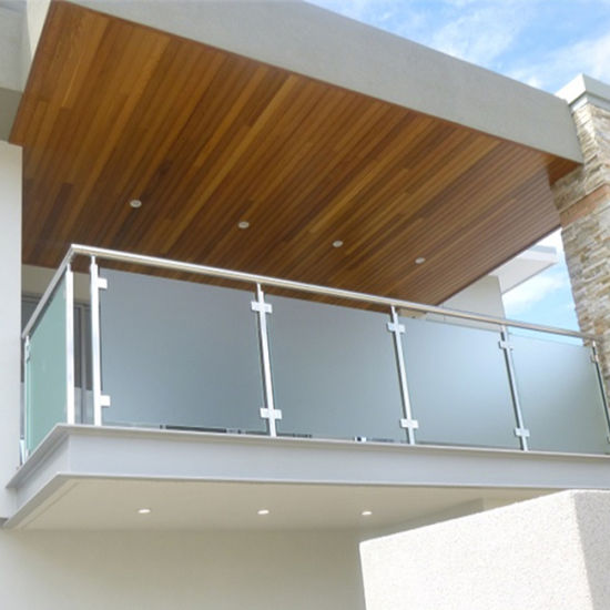China Balustrades Handrails Components Stainless Steel Balcony