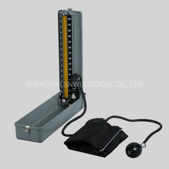 CE&ISO Certificated Desktop Electronic Display Medical Mercury-Free Sphygmomanometer