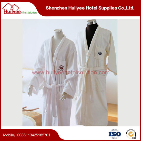 White Hotel Luxury Velvet Robe