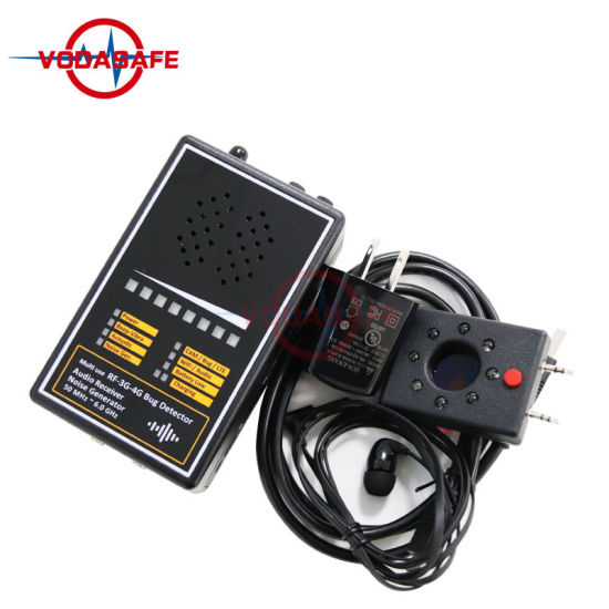 RF Signal Detector with Acoustic Display Detecting Range 50 MHz ~ 6.0 GHz