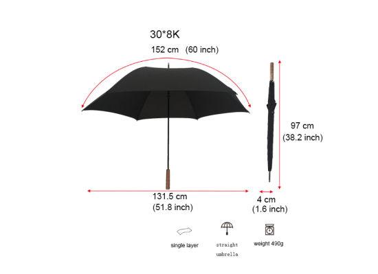 bd0c87591 Wooden Handle Umbrella Advertising Umbrella Promotion Umbrella Gift Umbrella  pictures & photos