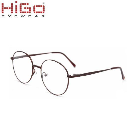 e9fce6fdf8 China Vintage Glasses Frame Round Metal Optical Frame Wholesale ...