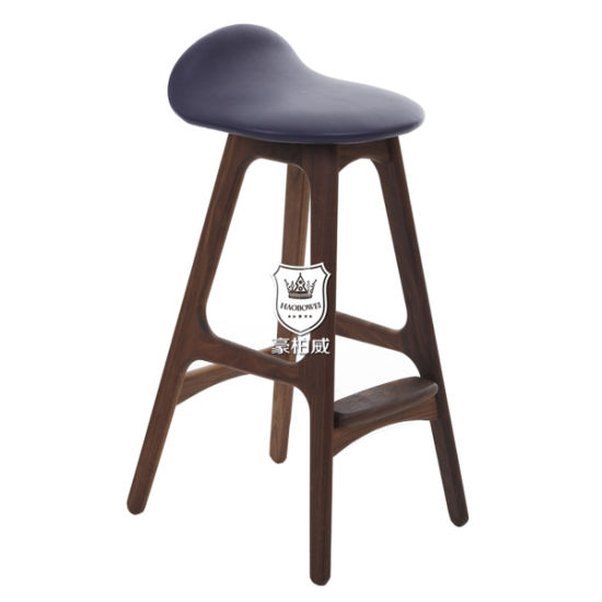 Astounding China Hotel Ash Wooden Bar Stool With Soft Seating Byd B102 Machost Co Dining Chair Design Ideas Machostcouk