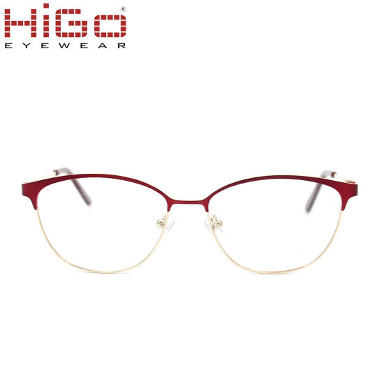 2018 China Colorful Women Stainless Steel Optical Frame