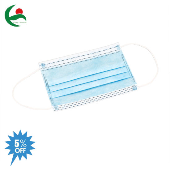 Fast Delivery 3 Ply Disposable Surgical Medical Children Mask with Earloop