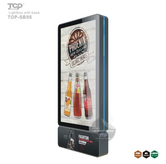 Outdoor Advertising Poster Aluminium Frame Scrolling Light Box pictures & photos