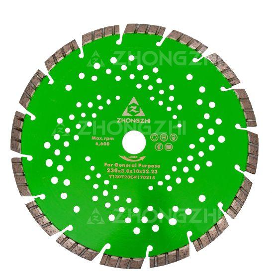 Laser Welding Diamond Circular Saw Blade for Concrete Asphalt
