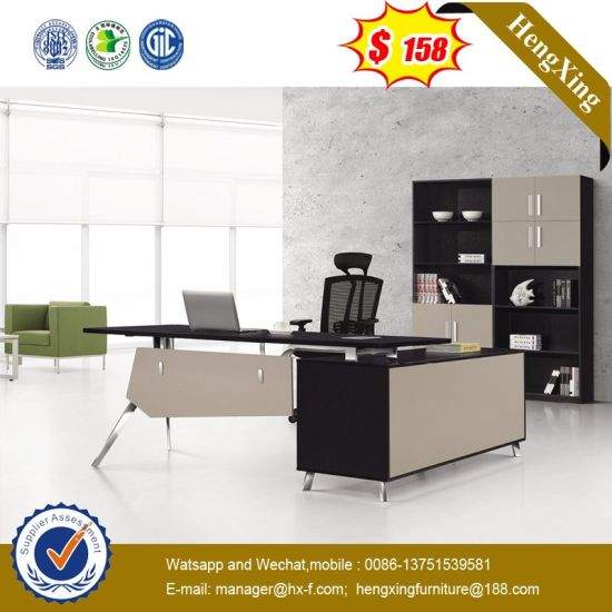 Mobile Drawers Attached Conference Room Tender Office Table (HX-AI118) pictures & photos