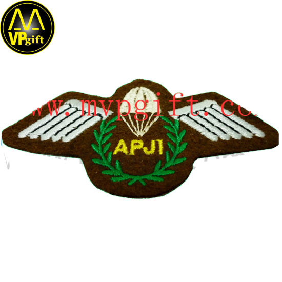 Custom Fashion Fabric Embroidery Path for Military Army Use