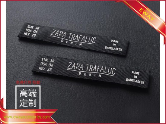2019 High End Woven Label for Fashion Garment