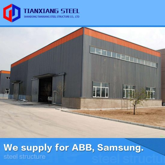 European Standard Export Quality Assured Commercial Metal Storage Buildings