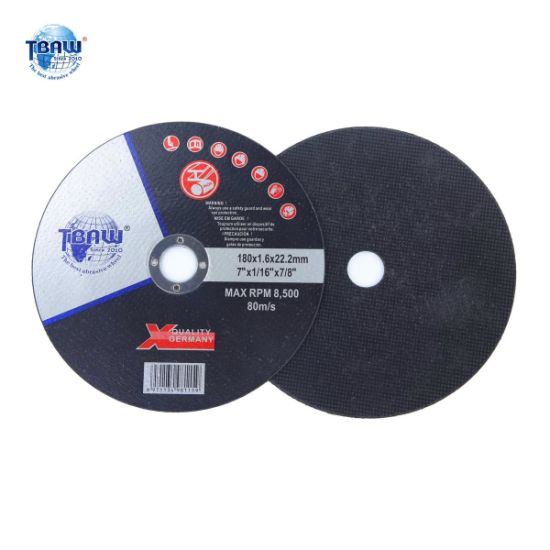 "7""Cutting Wheel for Inox 180*1.6*22mm"