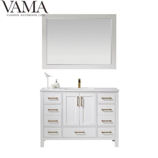 Vama 48 Inch White Bathroom