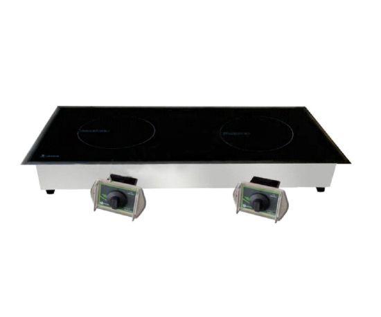 Built-in Embedded Induction Cooker Range (3.5kW*2) (S/S surrounding edge)