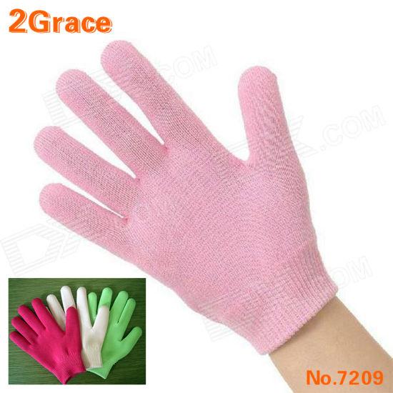 Beauty Healthy Moisturizing SPA Silicone Gel Gloves