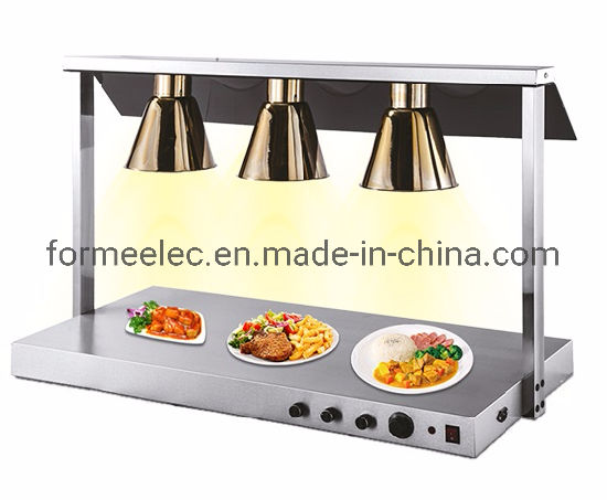 Buffet Equipment Hotel Restaurant Food Warmer Three Head Bulbs Food Heat Station Lamps pictures & photos