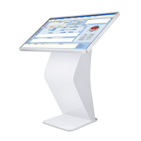 17'' Capacitive Floor Stand Touch Totem, Black Color