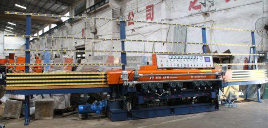 12 Motors Flat Glass Straight Line Polishing Machine