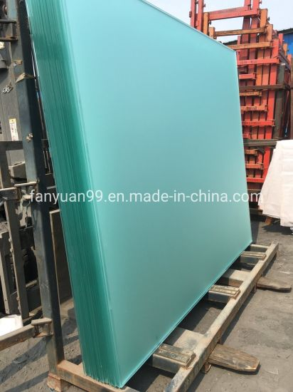Fanyuan Acid Etched Glass High Quality Hot Sale