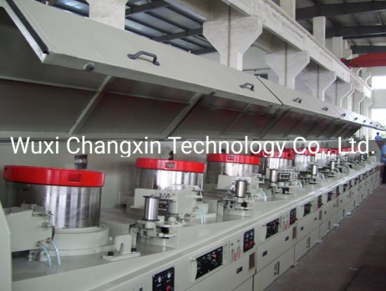 Automatic Continues Dry Typealuminum Steel Wire Drawing Machine for Straight Type/Carbon Steel