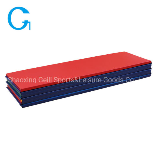 Factory Price High Quality 1/2-Inch Thick Rianbow Folding Gymnastics Mat