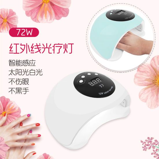 Professional 72W UV LED Lamp Automatic Induction Nail Dryer pictures & photos