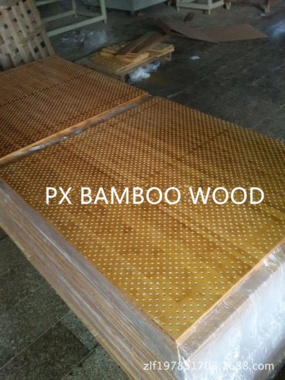 Acoustic Sound Absorbing Wood and Bamboo Ceiling Wall Panel pictures & photos