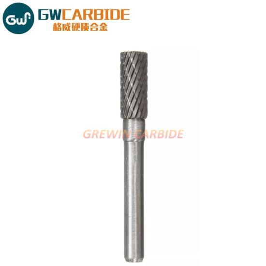 8MM head THK Tungsten Carbide Rotary Point Burr Die Grinder 6mm Shank