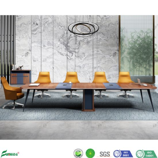 Modern Wooden Office Meeting Room Conference Table