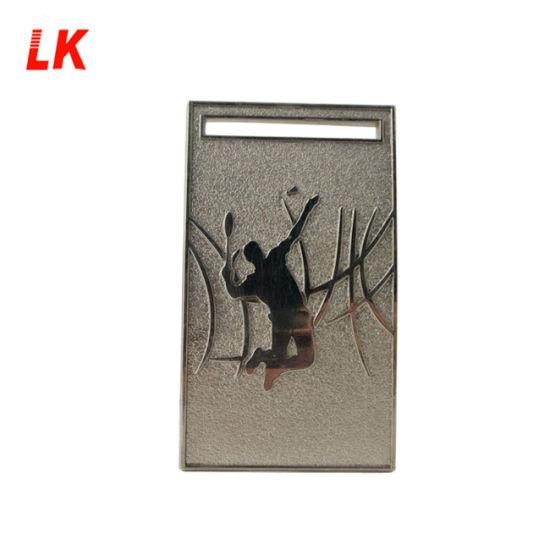 Custom Metal Badminton Sport Award Souvenir Gift Medal with Ribbon