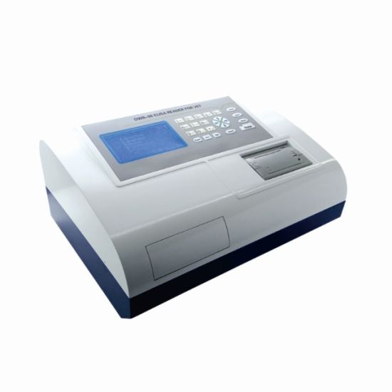 China Elisa Reader Machine, Microplate Reader with Colorful LCD Screen