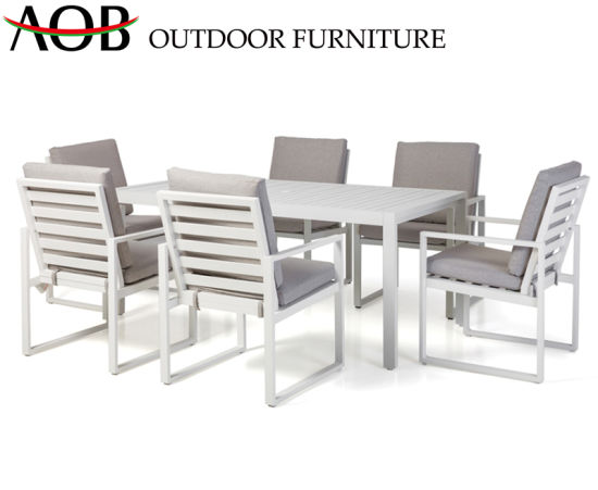 Modern Chinese Outdoor Garden Home Hotel Livingroom Resort Restaurant Cafe Dining Table and Chair Furniture