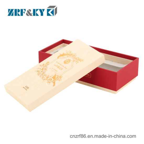 Custom Single Bottle Special Paper Packaging Wine Box with Lids