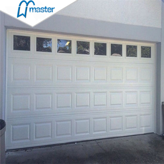 Wholesale Automatic Security Insulated Steel Side Sliding Sectional Garage Door