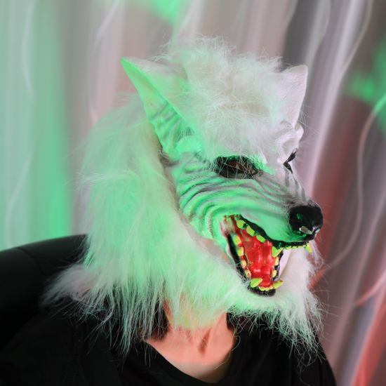 Popular Style Wolf Mask for Halloween pictures & photos