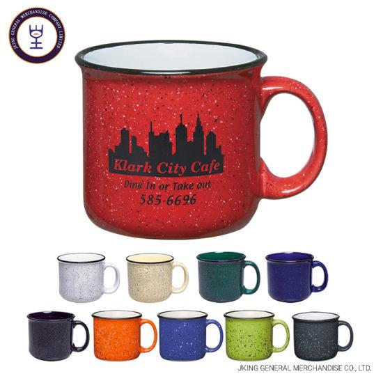 2019 Hot Sales Campfire Ceramic Mug with Speckle Printing