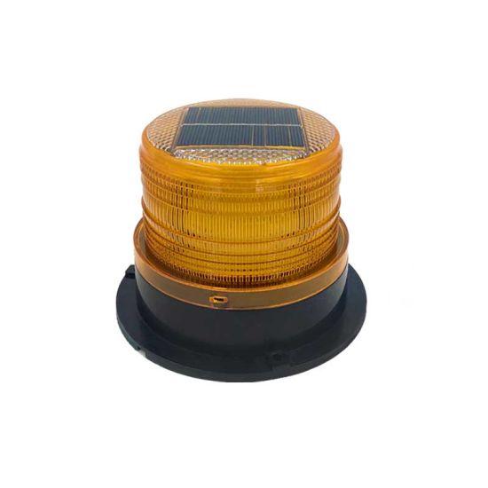 Solar LED Strobe Warning Light for Cars Emergency Vehicle Warning Light with Magnetic Base