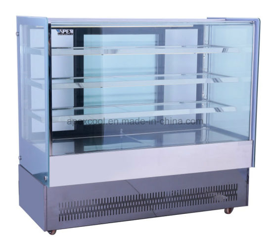 European Style Cake Bakery Display Refrigerated Showcase Cooler pictures & photos